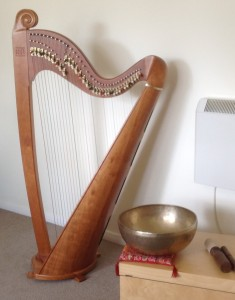 Harp and Singing Bowl