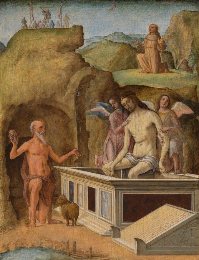 Ercole de' Roberti - The Dead Christ